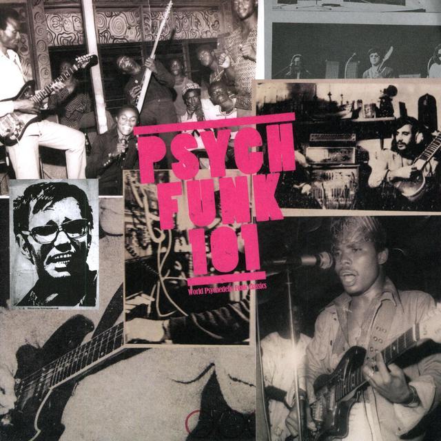 PSYCH-FUNK 101 / VARIOUS Vinyl Record