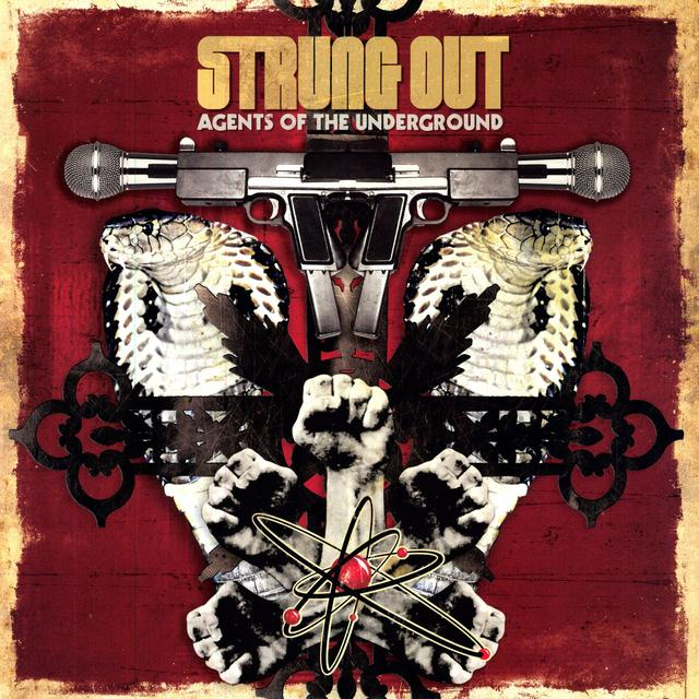 Strung Out AGENTS OF THE UNDERGROUND Vinyl Record