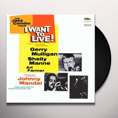 Gerry / Jazz Combo Mulligan I WANT TO LIVE Vinyl Record - Limited Edition, 180 Gram Pressing