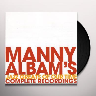 Manny Albam JAZZ GREATS OF OUR TIME 1 Vinyl Record