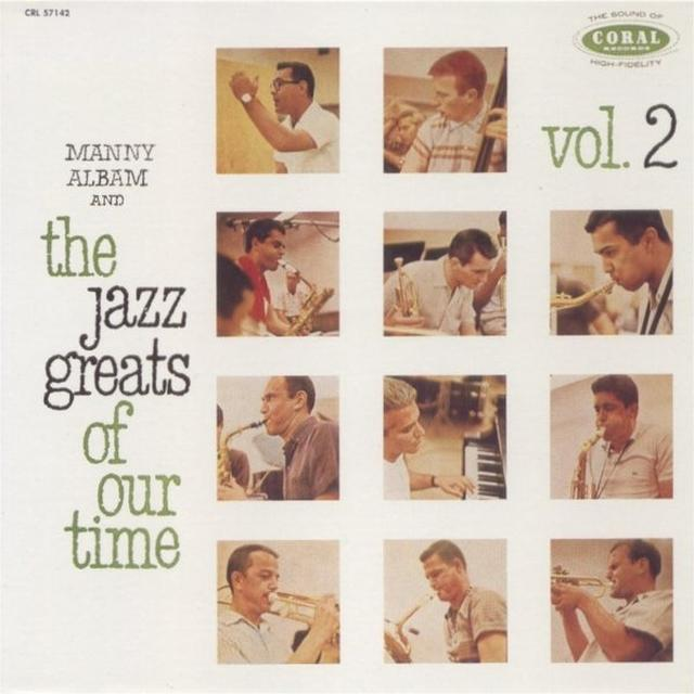 Manny Albam JAZZ GREATS OF OUR TIME 2 Vinyl Record
