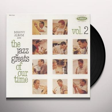 Manny Albam JAZZ GREATS OF OUR TIME 2 Vinyl Record - Limited Edition, 180 Gram Pressing