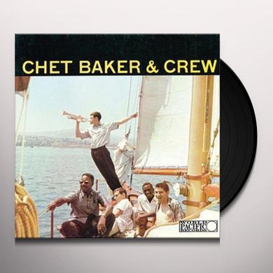 CHET BAKER & CREW Vinyl Record - Limited Edition, 180 Gram Pressing