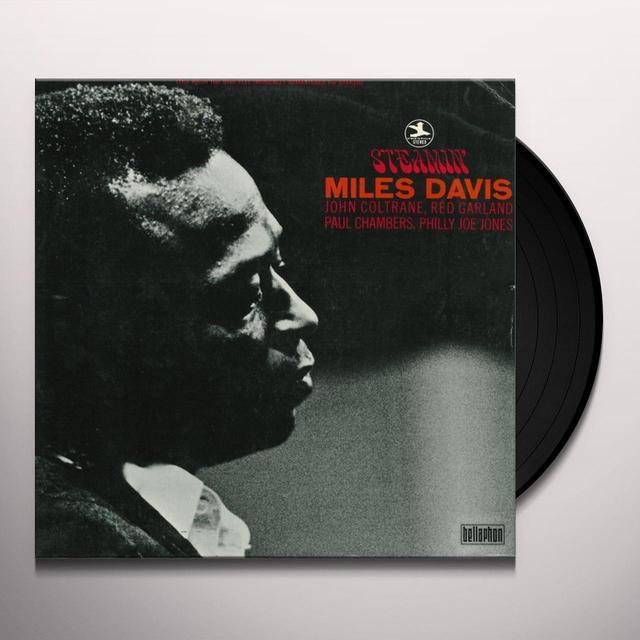 Miles Davis STEAMIN Vinyl Record - Limited Edition, 180 Gram Pressing