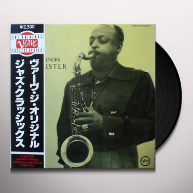 Ben Webster KING OF THE TENORS Vinyl Record - Limited Edition, 180 Gram Pressing