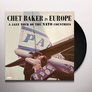 Chet Baker JAZZ TOUR OF THE NATO COUNTRIES Vinyl Record