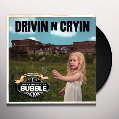 Drivin N Cryin GREAT AMERICAN BUBBLE FACTORY Vinyl Record - w/CD, Digital Download Included