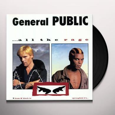 General Public ALL THE RAGE Vinyl Record