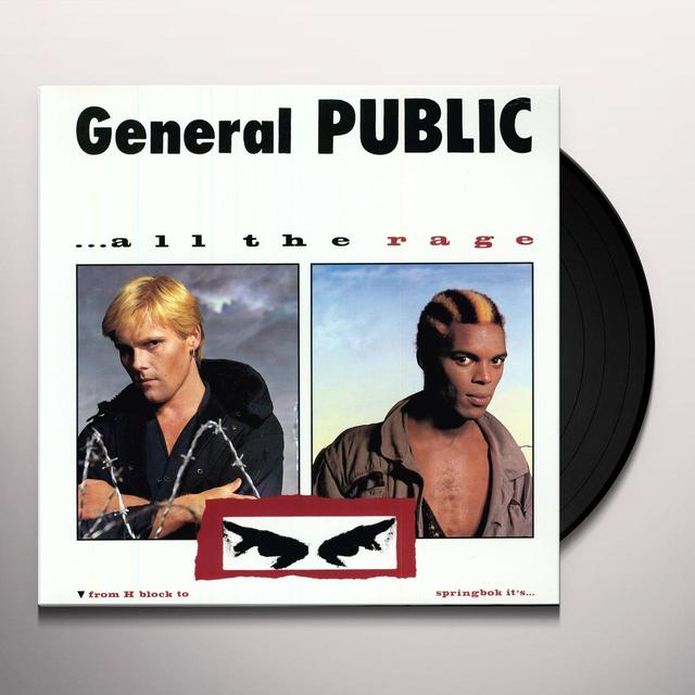 General Public ALL THE RAGE Vinyl Record