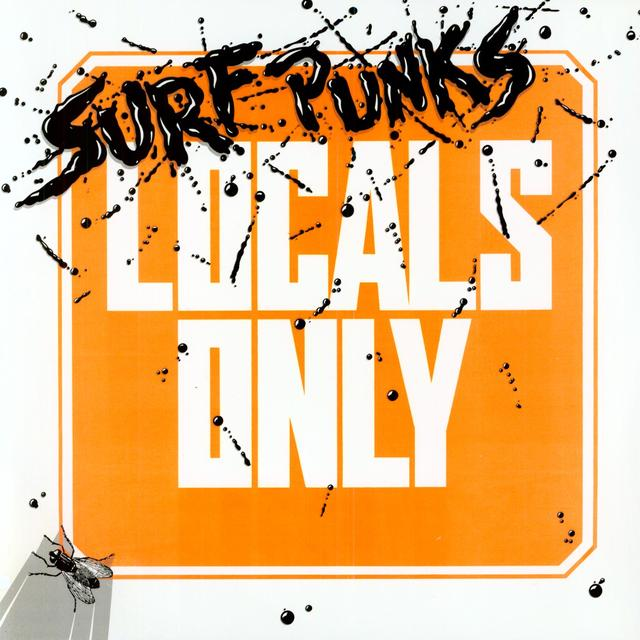 Surf Punks LOCALS ONLY Vinyl Record