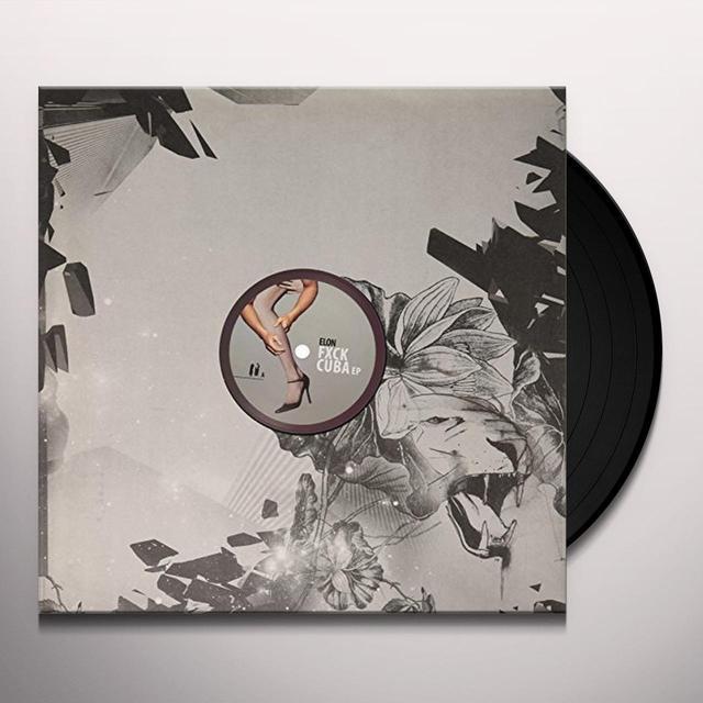 Elon FXCK CUBA Vinyl Record