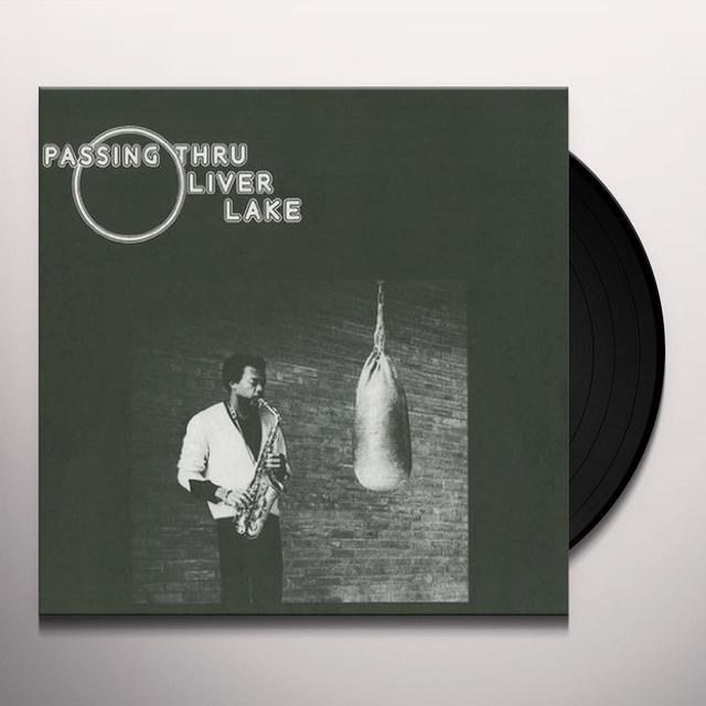 Oliver Lake PASSING THRU Vinyl Record