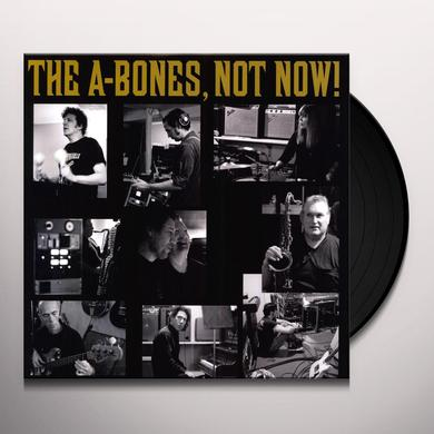 A-Bones NOT NOW Vinyl Record