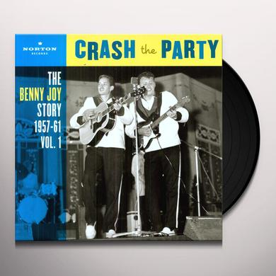 Benny Joy CRASH THE PARTY 1 Vinyl Record