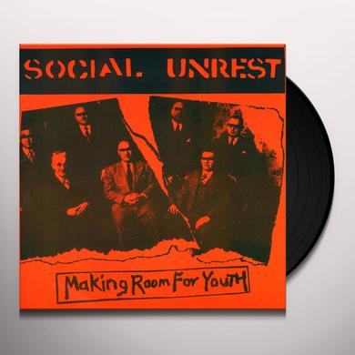 Social Unrest MAKING ROOM FOR YOUTH Vinyl Record