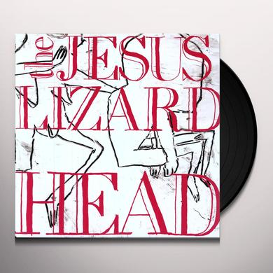 The Jesus Lizard HEAD (BONUS TRACKS) Vinyl Record - Deluxe Edition, Remastered, Digital Download Included, Reissue