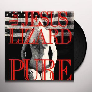 The Jesus Lizard PURE (BONUS TRACK) Vinyl Record - Deluxe Edition, Remastered, Digital Download Included, Reissue