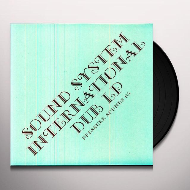 KING TUBBY & DYNAMITES SOUND SYSTEM INTERNATIONAL Vinyl Record