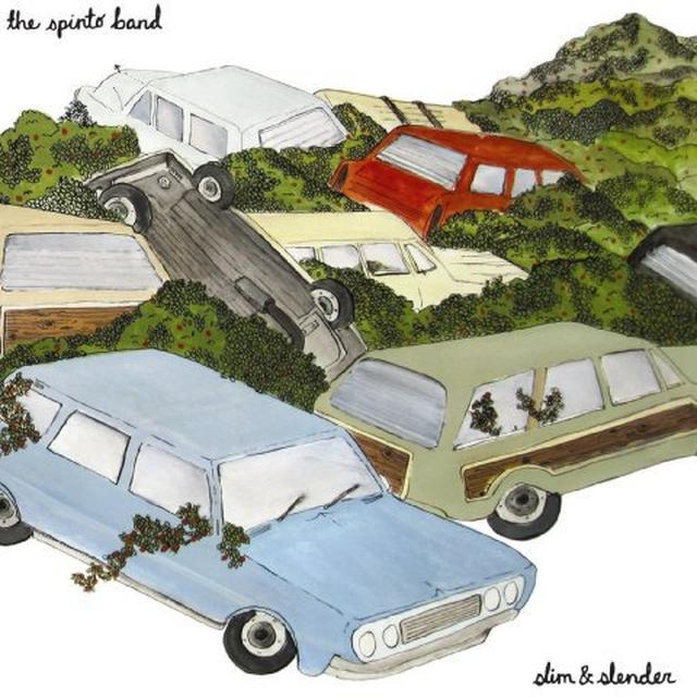 The Spinto Band SLIM & SLENDER (EP) Vinyl Record