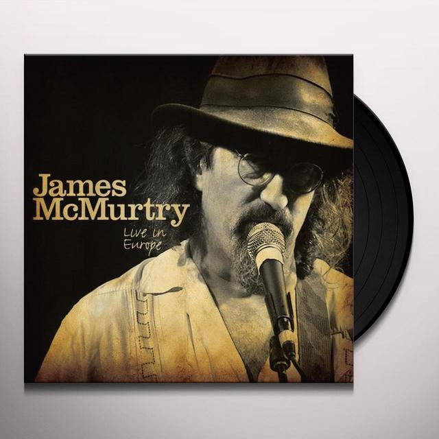 James Mcmurtry LIVE IN EUROPE Vinyl Record