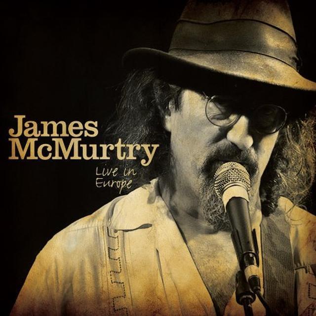 James Mcmurtry LIVE IN EUROPE  (BONUS DVD) Vinyl Record - w/CD