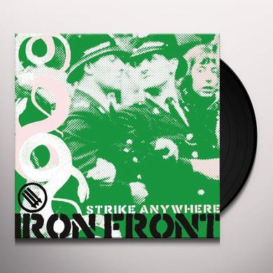 Strike Anywhere IRON FRONT Vinyl Record