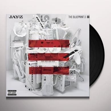 Jay Z BLUEPRINT 3 Vinyl Record