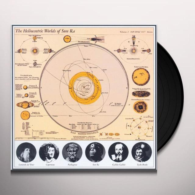 HELIOCENTRIC WORLDS OF SUN RA 2 Vinyl Record
