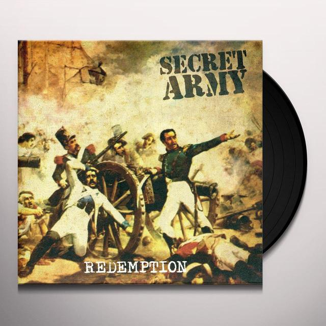 Secret Army REDEMPTION Vinyl Record
