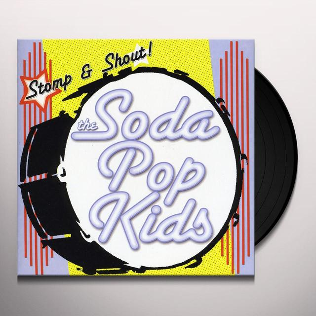 Soda Pop Kids STOMP & SHOUT Vinyl Record