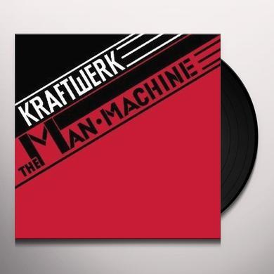 Kraftwerk MAN MACHINE Vinyl Record - Limited Edition, Remastered
