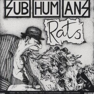 Subhumans TIME FLIES & RATS Vinyl Record