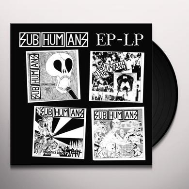 Subhumans EP-LP Vinyl Record - Reissue