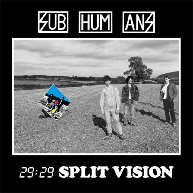 Subhumans 29:29 SPLIT VISION Vinyl Record - Reissue