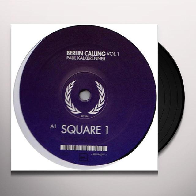 Paul Kalkbrenner BERLIN CALLING 1 Vinyl Record