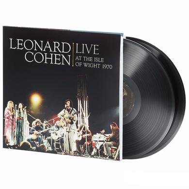 Leonard Cohen LIVE AT THE ISLE OF WIGHT 1970 Vinyl Record