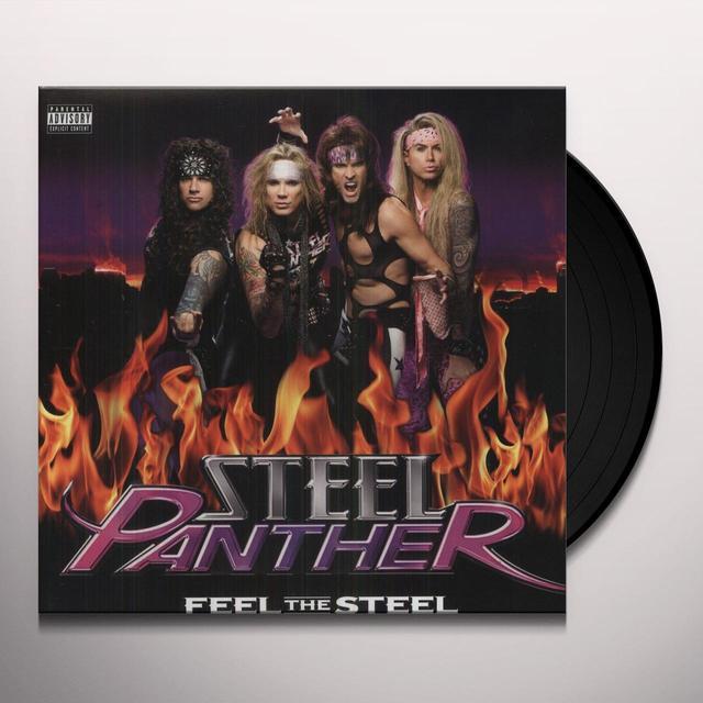 Steel Panther FEEL THE STEEL Vinyl Record