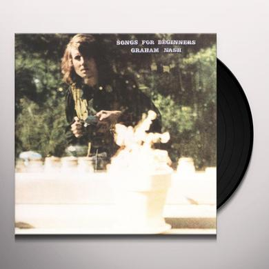 Graham Nash SONGS FOR BEGINNERS Vinyl Record