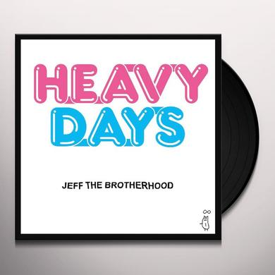 Jeff The Brotherhood HEAVY DAYS Vinyl Record - Digital Download Included