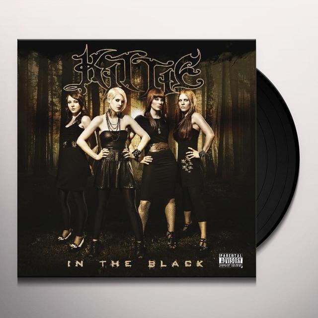 Kittie IN THE BLACK Vinyl Record