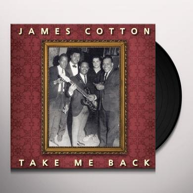 James Cotton TAKE ME BACK Vinyl Record - Limited Edition, 180 Gram Pressing, Remastered, Reissue