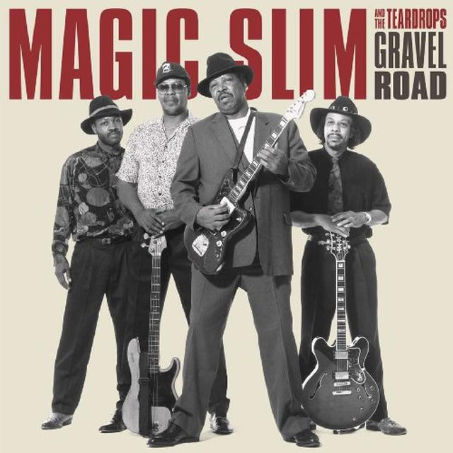 Magic Slim & Teardrops GRAVEL ROAD Vinyl Record - Limited Edition, 180 Gram Pressing, Remastered, Reissue