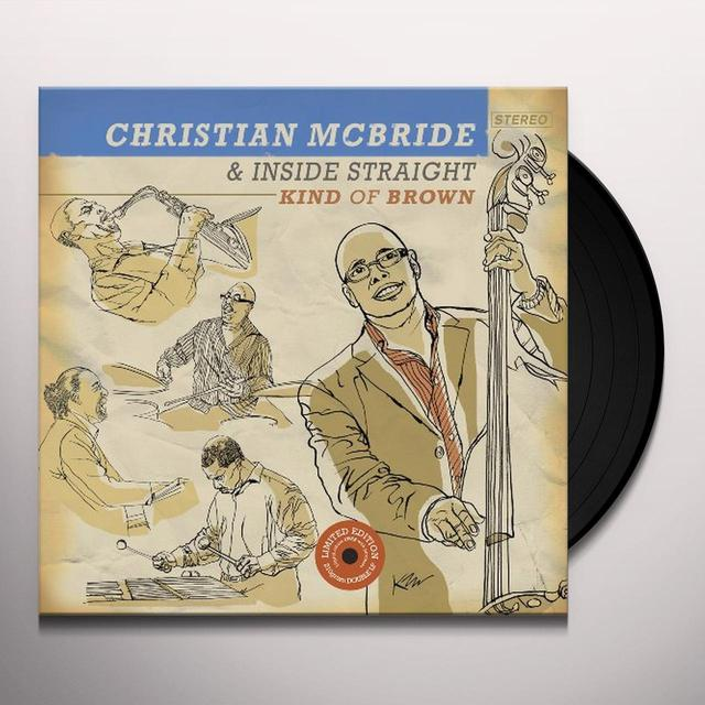 Christian / Inside Straight Mcbride KIND OF BROWN: THE VINYL Vinyl Record - Limited Edition