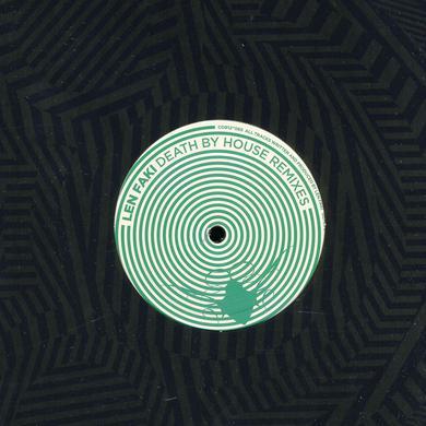 Len Faki DEATH BY HOUSE REMIXES Vinyl Record
