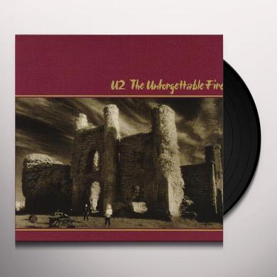 U2 UNFORGETTABLE FIRE Vinyl Record - 180 Gram Pressing, Remastered