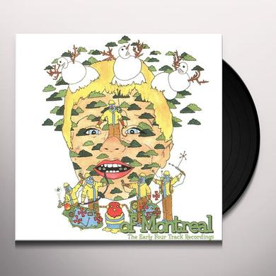 Of Montreal EARLY FOUR TRACK RECORDINGS Vinyl Record