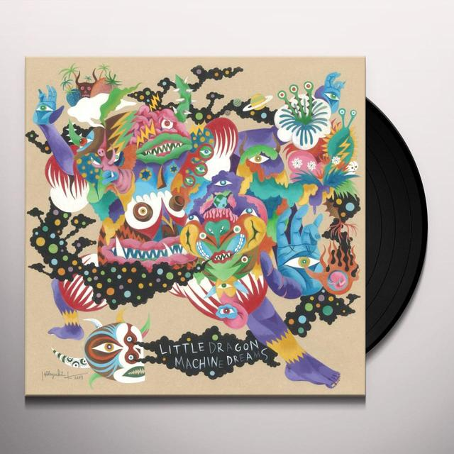 Little Dragon MACHINE DREAMS Vinyl Record