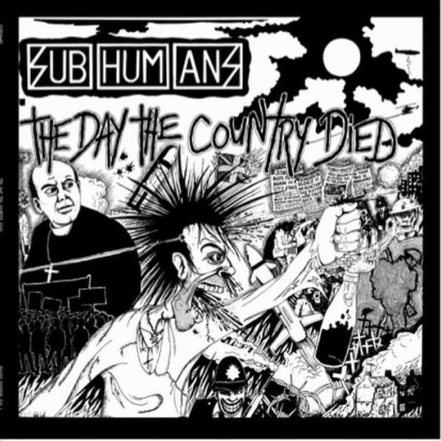 Subhumans DAY THE COUNTRY DIED (REIS) (Vinyl)
