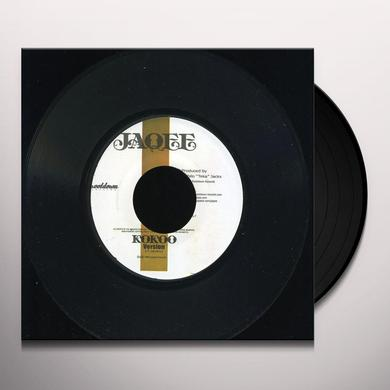Jaqee KOKOO GIRL & KOKOO VERSION Vinyl Record