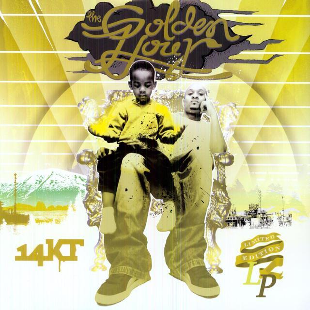 14Kt GOLDEN HOUR Vinyl Record